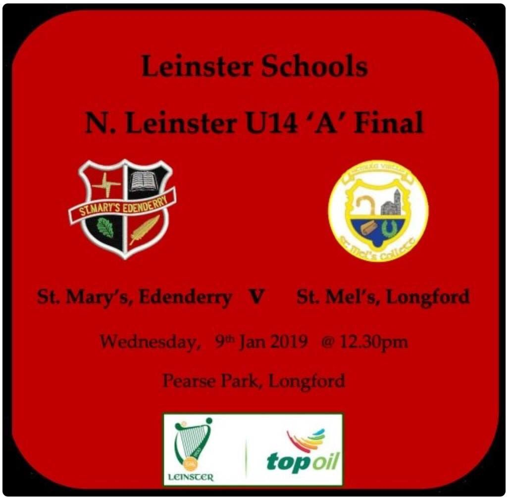 test Twitter Media - Very best of luck to St.Marys U'14 Boys Team especially our under-age player's Eoin Smith, Cian Cocoman and Matt Heavy who take on St. Mel's in the North Leinster Final . 💚💛 https://t.co/GlWLNYmQpI