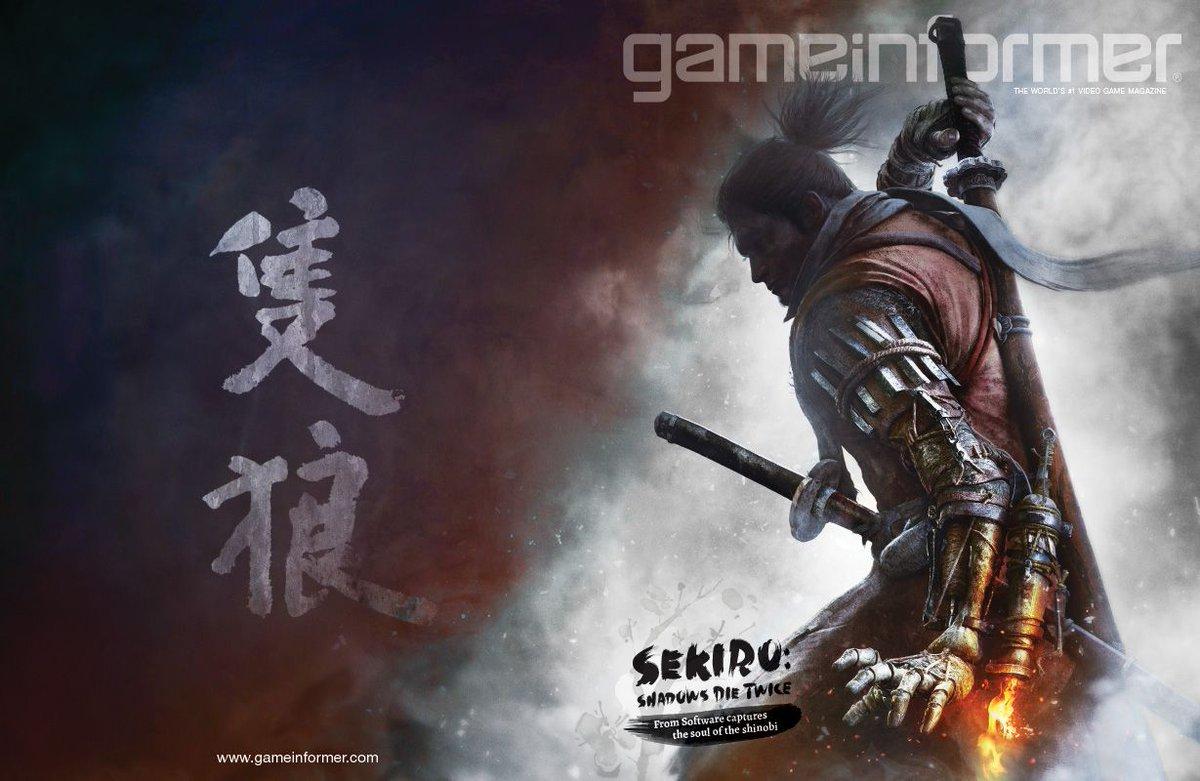 RT @gameinformer: February Cover Revealed - Sekiro: Shadows Die Twice https://t.co/yHZRSZOVwL https://t.co/EYSsqr953u