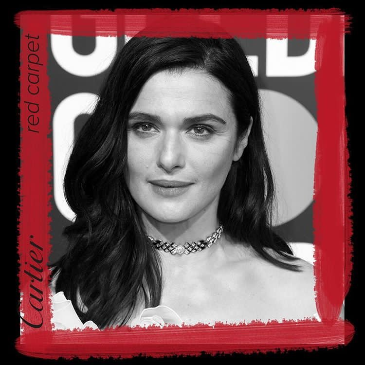 #RachelWeisz stuns on the red carpet at the 76th annual #GoldenGIobes in a #CartierHighJewelry necklase and ring. https://t.co/38NDmphE8A