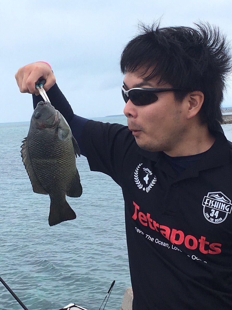 石垣釣り生活。 新年のフカセの釣果は微妙でしたが、グレ釣れたから満足。 いい滑り出し。 https://t.co/ewIApk3WEB