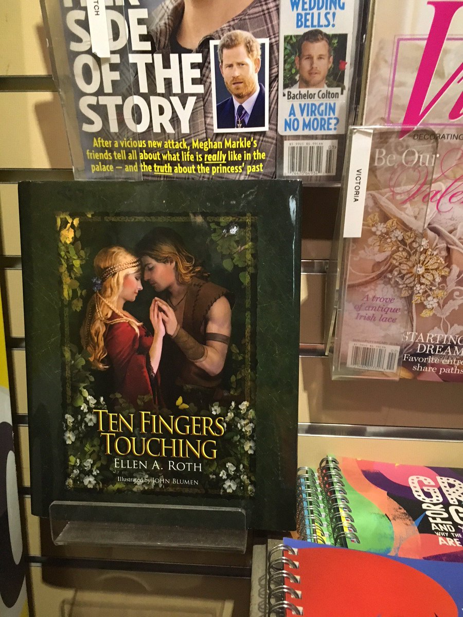 "test Twitter Media - So happy to see my book, Ten Fingers Touching, on display at the UPMC Presbyterian Hospital gift shop. It's a fairy tale for grown-ups! The manager commented, ""Everyone needs a fantasy.""  see https://t.co/PPmZUvWWmV for links to Amazon, Barnes & Noble and book stores. https://t.co/EGRsQ3FXYx"
