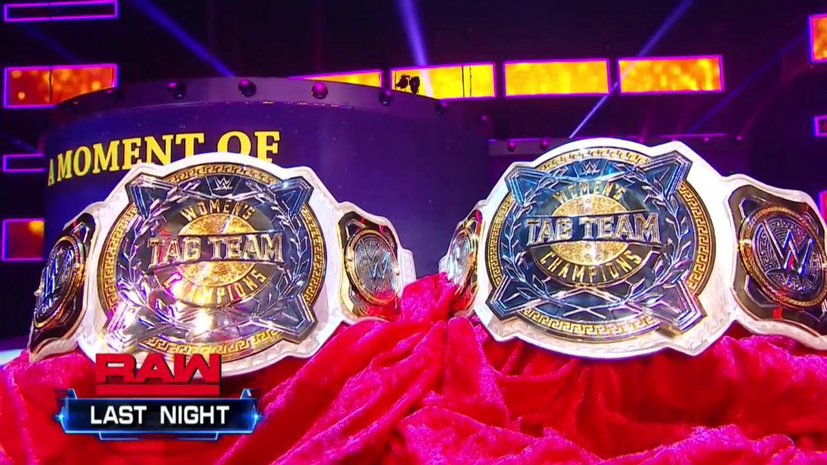 RT @WWE: Look at those beauties! ????????  Who's going to be the FIRST pair to hold them at #WWEChamber? #SDLive https://t.co/EsSb5mpnrD