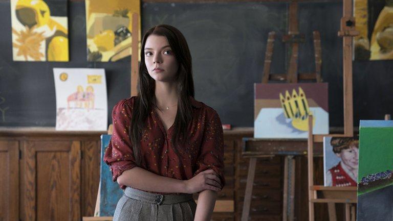 How GlassMovie star @anyataylorjoy got a film school education on set
