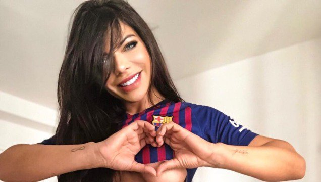 RT @Radio_Formula: Miss BumBum se tatúa a Lionel Messi en zona del bikini (FOTOS) ????????????????????????  ➡➡ https://t.co/y6b8LLECVQ https://t.co/MGZTfmMAlC