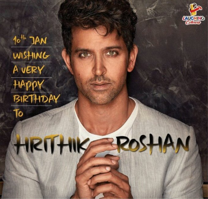 Happy wala Birthday Greek God Hrithik Roshan,