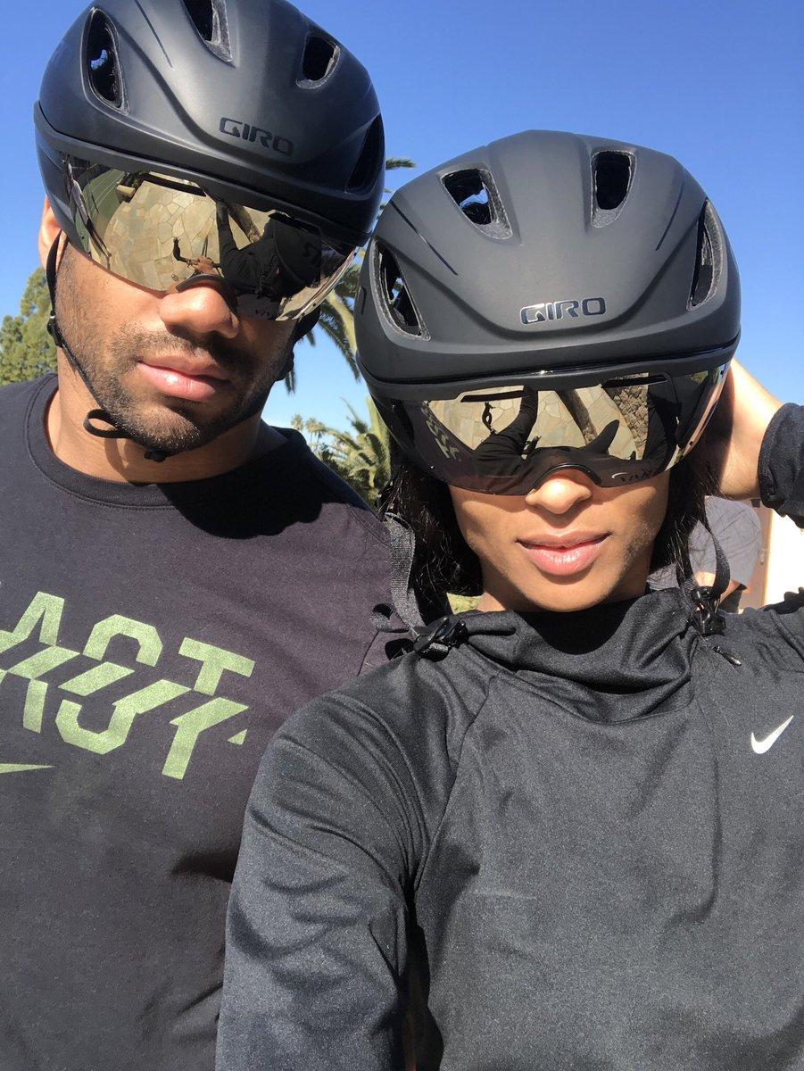 Riding partners 4 Life ????????♂️ @DangeRussWilson❤️ https://t.co/Eas2380D0O
