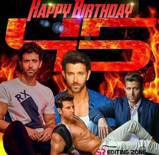 Happy birthday hrithik roshan sir  Krrish 4 .5 ka good news kab do get sir