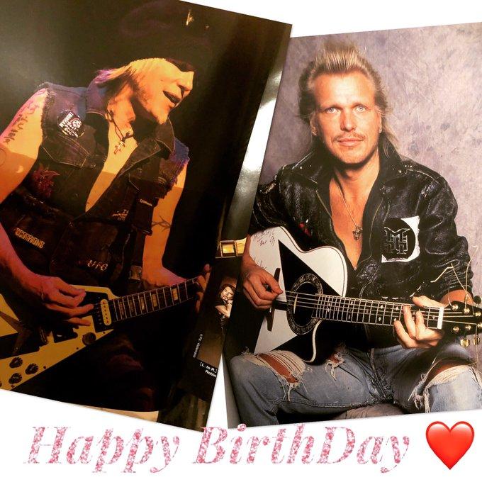 Happy Birthday  to michael   64years old    schenker rock metal