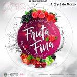 La Fiesta Nacional de la Fruta Fina🍒🍓 tiene nuevas fechas para Marzo. Te esperamos! https://t.co/r0ANbYx9BH