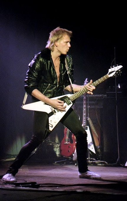 Happy Birthday to guitar god  Michael Schenker, one of my favorite players