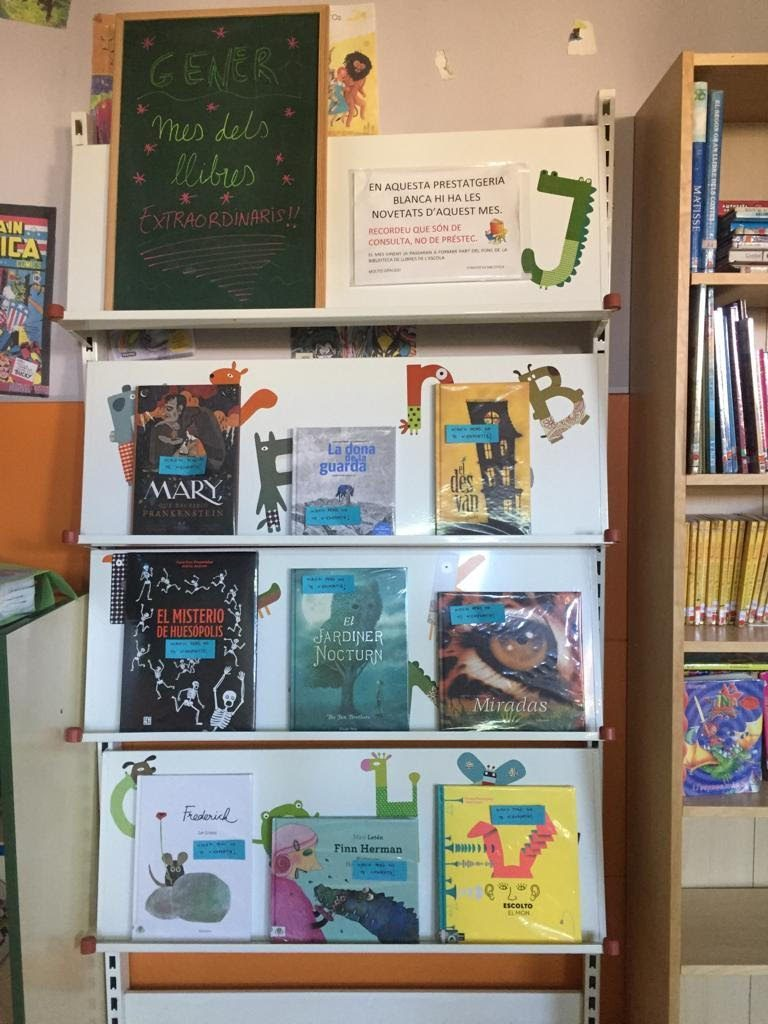 test Twitter Media - Novetats del mes de gener a la biblioteca de primària https://t.co/GxmfRdUluW https://t.co/Ip3zJAbpl5