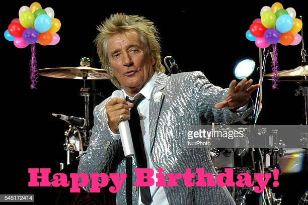 Happy Birthday to British rock singer and songwriter, Rod Stewart!