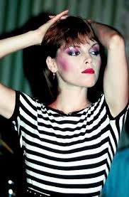 There are three girls at Ridgemont who are cultivating the Pat Benatar look. Happy Birthday Pat Benatar!