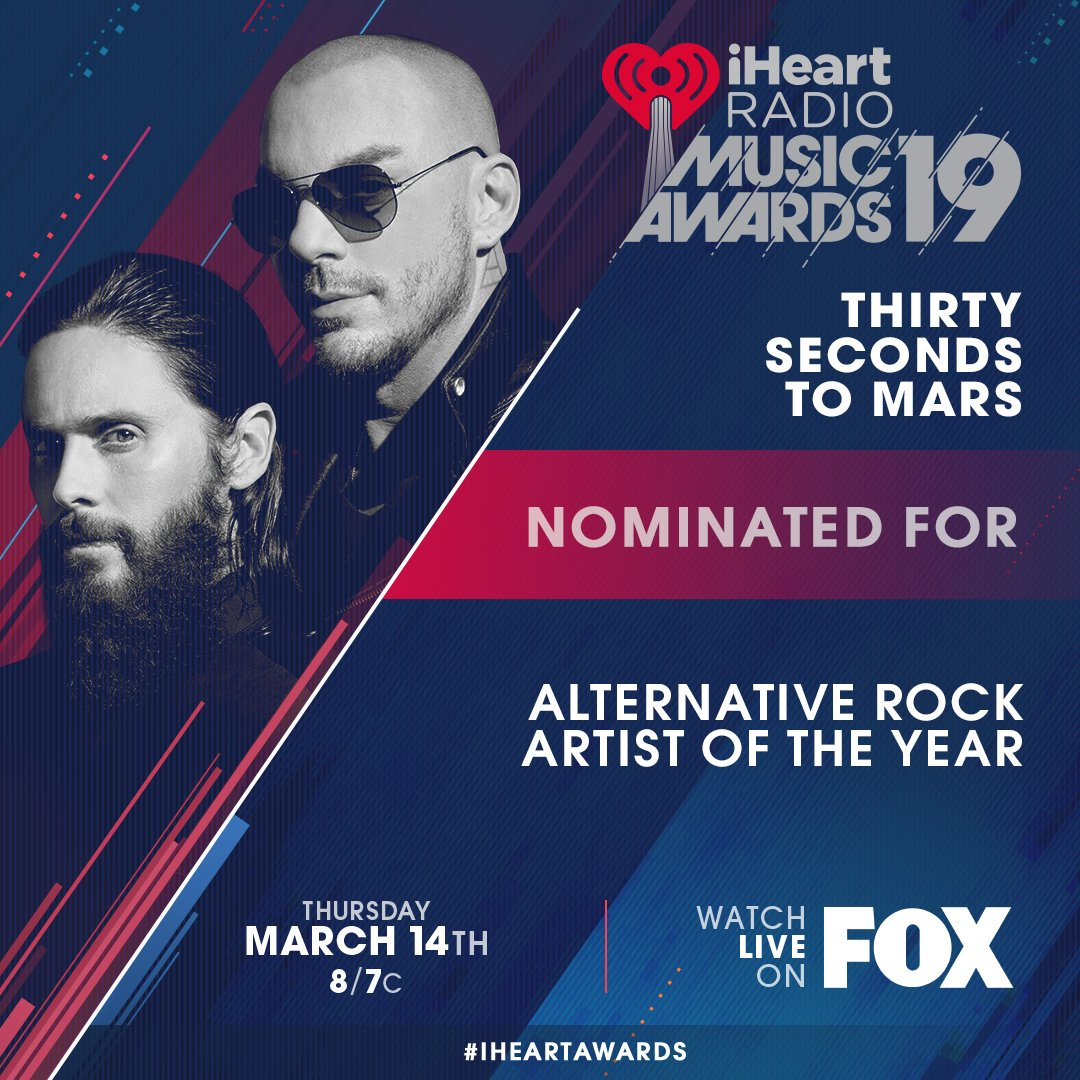 Thanks @iHeartRadio https://t.co/sGV1ap8jWg