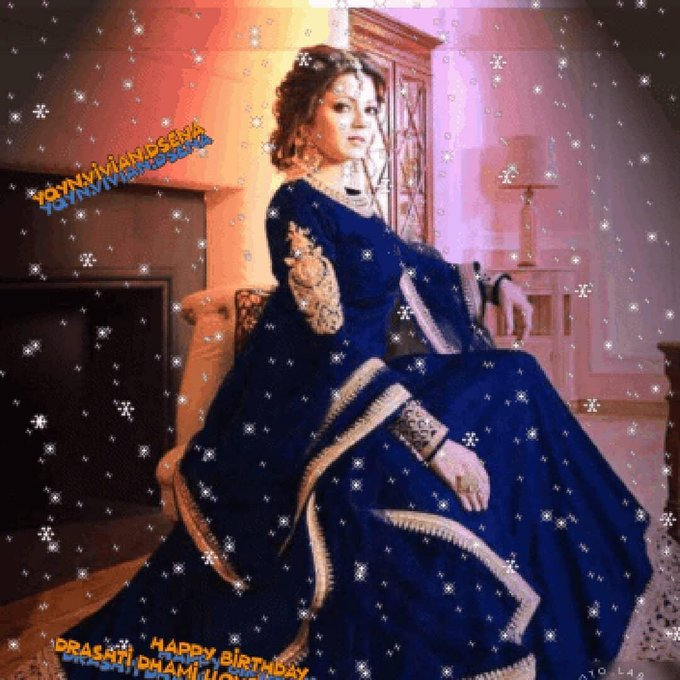 Happy birthday drashti dhami llove you so much His majesty