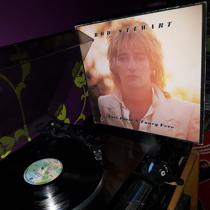 Happy Birthday Rod Stewart *74*! Foot Loose & Fancy Free (Warner Bros/1977)