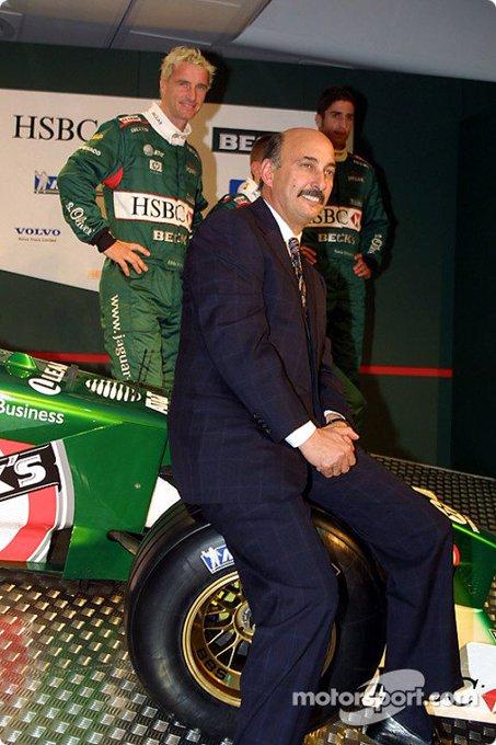 Happy Birthday Bobby Rahal! (Ex-Jaguar team principal during 2001