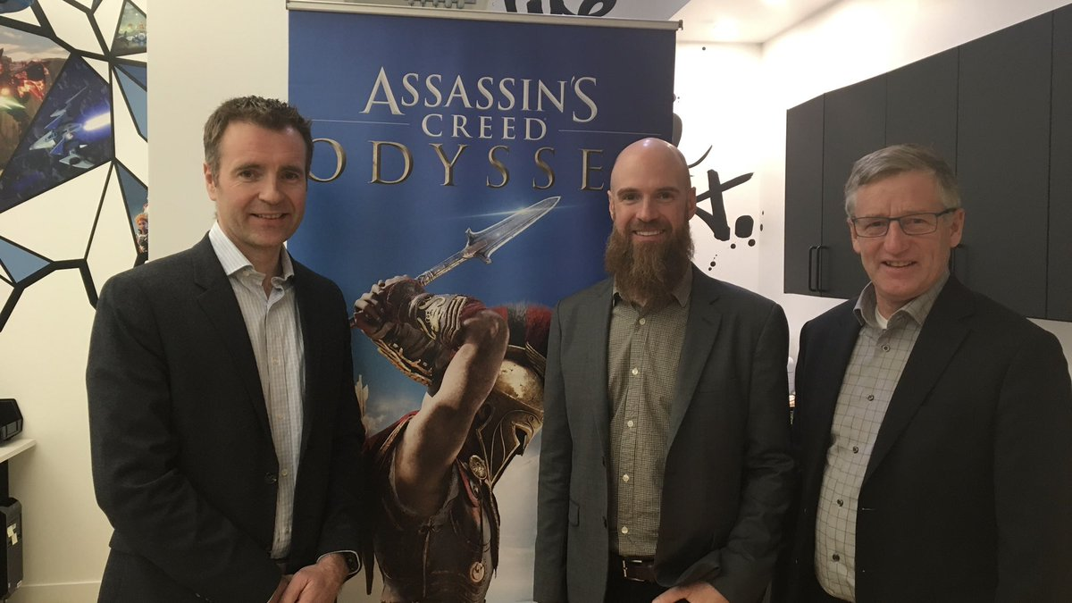test Twitter Media - Thank you to Yannis Mallat CEO of Ubisoft Studios Canada and Darryl Long, Managing Director of Ubisoft Winnipeg for the invite to join them at the official grand opening of the Winnipeg office! 100 new tech jobs in the next 5 years! @UbisoftWinnipeg #mbpoli 👏 https://t.co/AzOHbp5Txv
