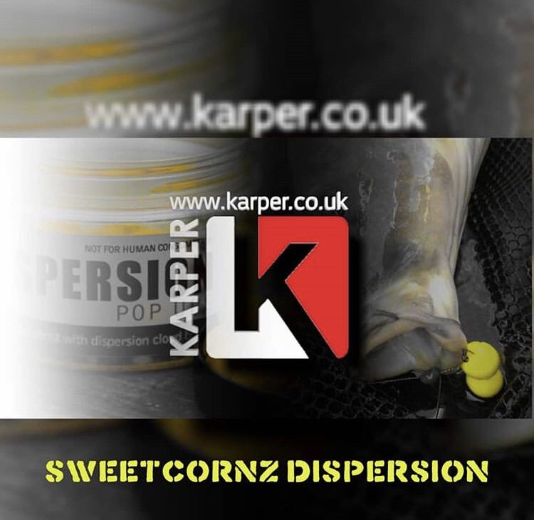 The KARPER Dispersion Sweetcornz, providing you that edge this <b>Winter</b> #karperltd #carpfishing