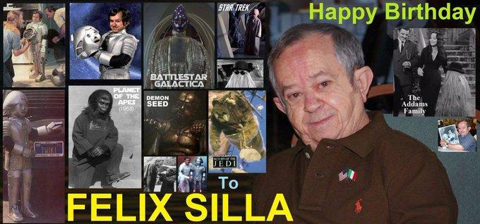 Happy birthday Felix Silla, born January 11,1937.
