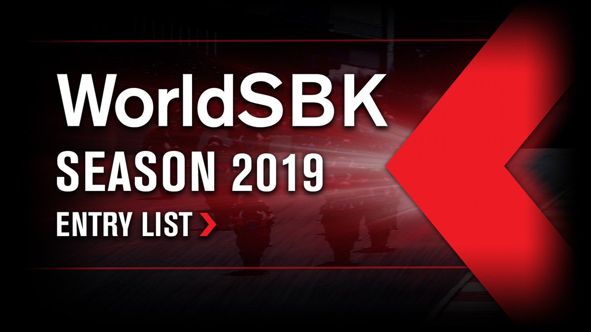 test Twitter Media - 2019 #WorldSBK entry list revealed  Provisional #WorldSBK line up for the new season announced.  📃| #WorldSBK https://t.co/nPj6oSaU1Z https://t.co/WMN38dts07