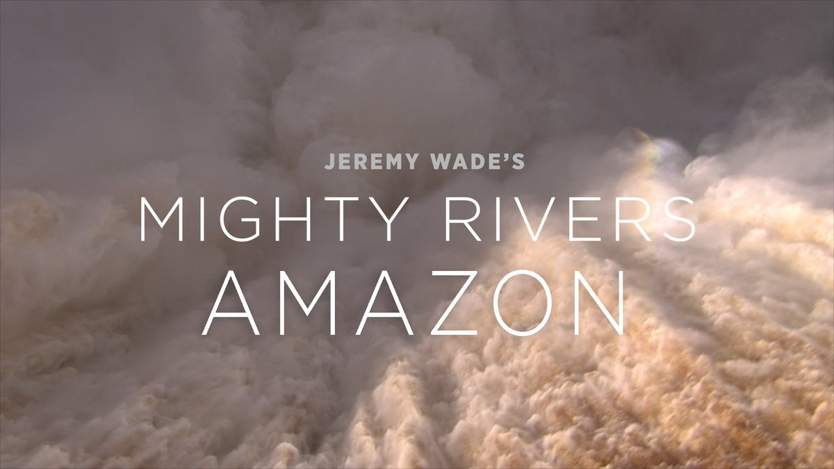 The Mighty Rivers Amazon episode will air in 30 minutes, don't forget to tune in on @ITV at 8pm #tonight! #MightyRivers #JeremyWade #Amazon #rivers #healthyrivers #ITV #protectwater #angling https://t.co/2FgLY6enbO