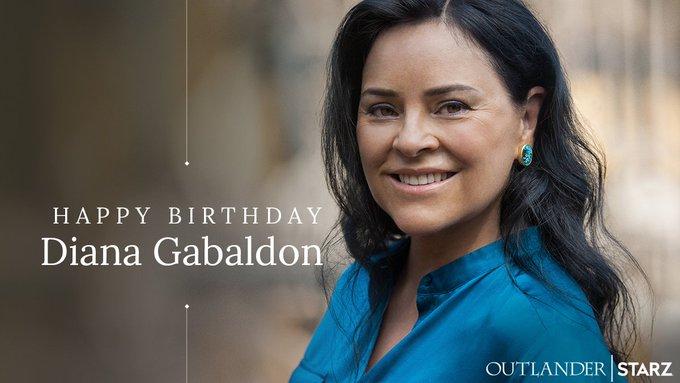 Happy Birthday to genius creator, Diana Gabaldon (