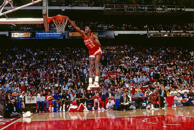 """Happy Birthday to the \""""The Human Highlight Film, Dominique Wilkins!!"""