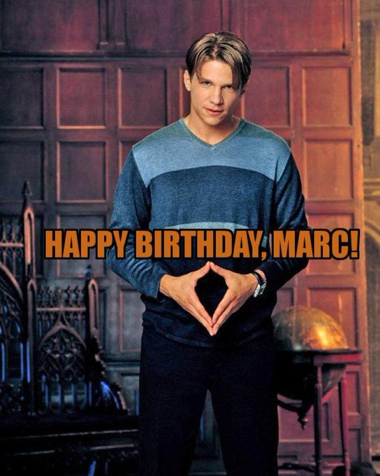 Wishing Marc Blucas a Happy Birthday!