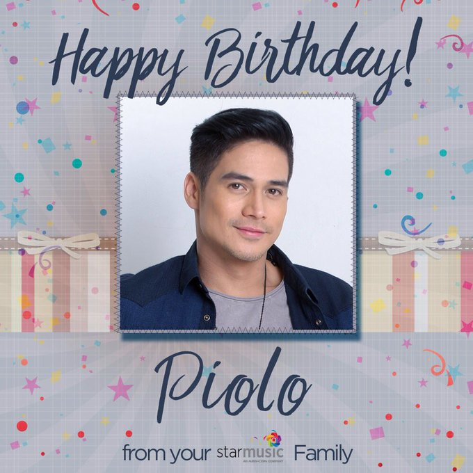 Happy birthday Piolo Pascual! Love, your Star Music family!