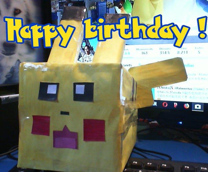 Happy Birthday  :D !