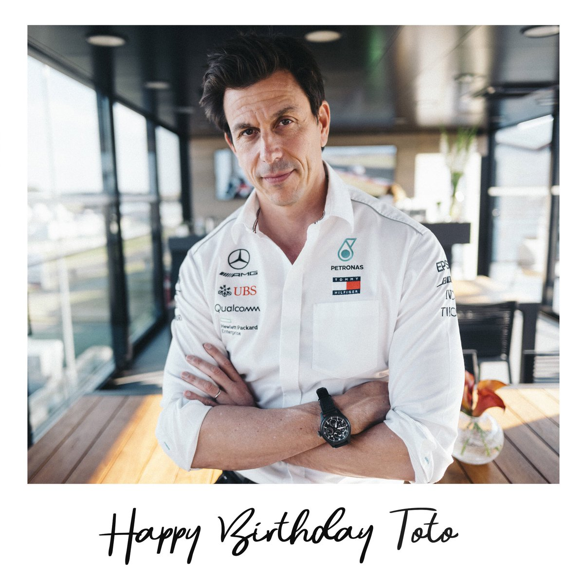 RT @MercedesAMGF1: #HappyBirthdayToto 🎉🎈🥳   Comment below and share your birthday wishes with the boss! https://t.co/BrrCJ9suWA