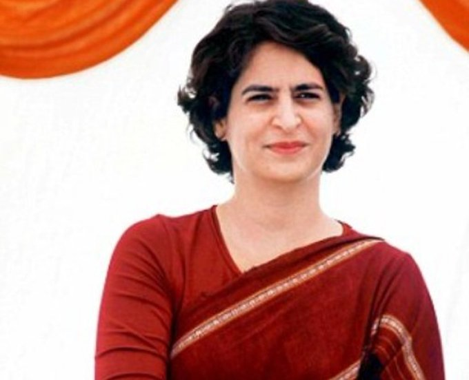 Happy birthday to our beloved Priyanka Gandhi ji..