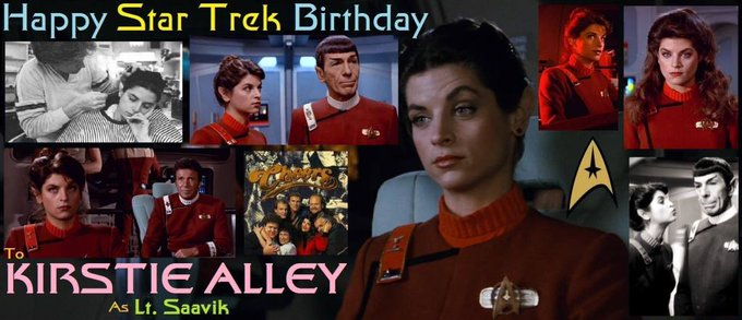 Happy birthday Kirstie Alley, born January 12, 1951.
