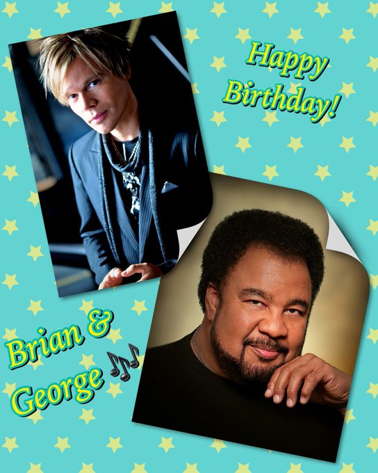 Happy Birthday to and George Duke!!!!
