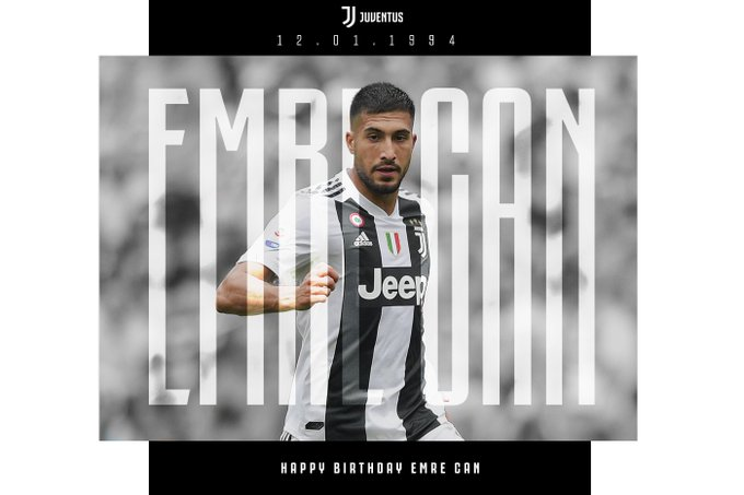 Happy birthday, Emre Can
