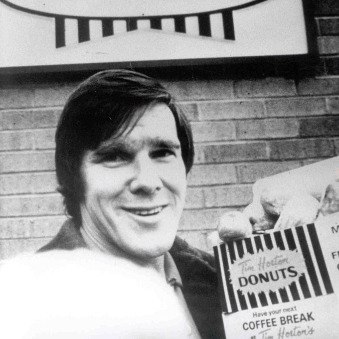 Today is forever marked on our calendar. Happy birthday, Tim Horton.