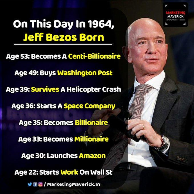 Happy birthday Sir Jeff Bezos .