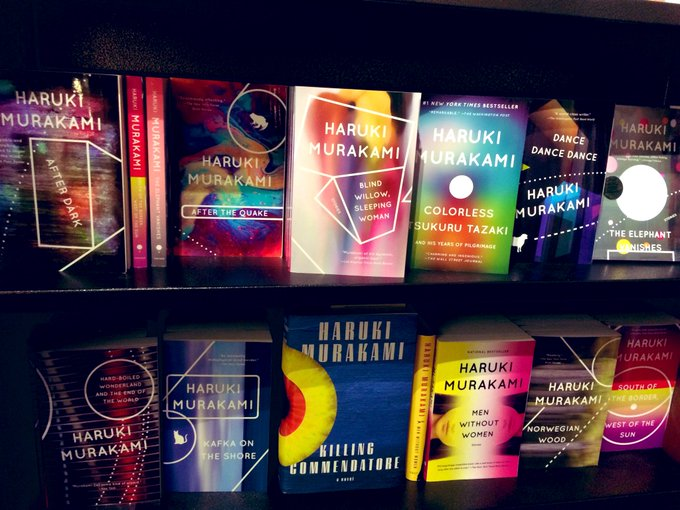 Happy 70th birthday to Haruki Murakami! Here s to many more.