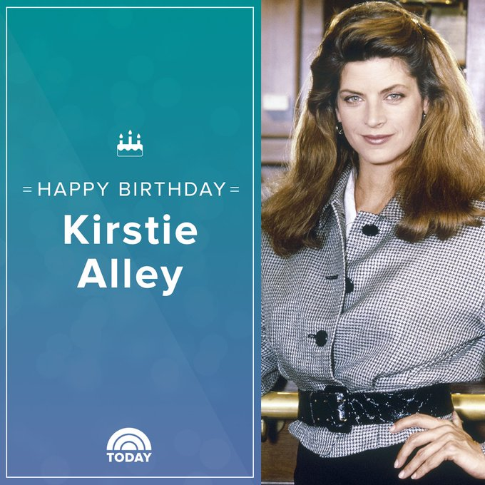 Happy birthday, Kirstie Alley!