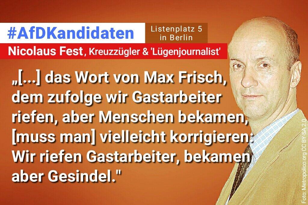RT @dr_ecksack_: @VFF77 @gutmenschen_inc #braunernicolaus. Richtig so @DeutscheBankAG. #afd-Sekte. #NazisRaus https://t.co/58sAKQko80
