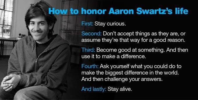 RT @rlyehlab: Gone.. but never forgotten. Remember #AaronSwartz https://t.co/pHqgagfx6c