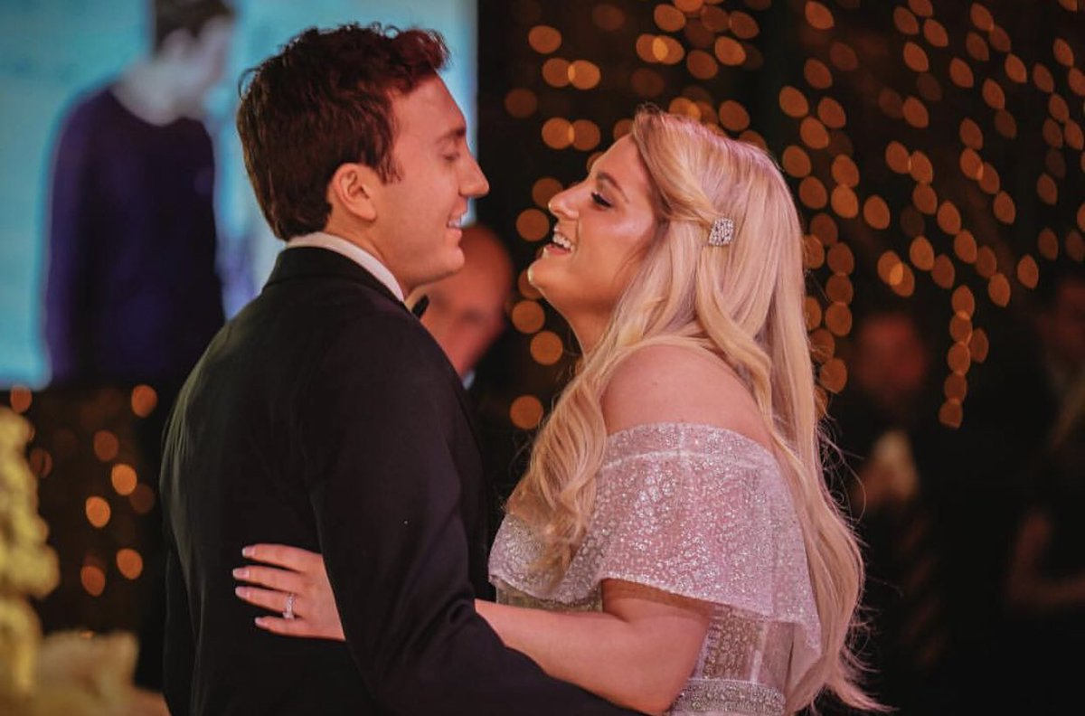RT @Meghan_Trainor: Get ready for all the wedding pics🥰 ... best birthday ever 🥳 https://t.co/MYA4ctIsnY