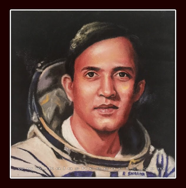 Happy birthday Ashok Chakra awarded astronaut Shri Rakesh Sharma ji