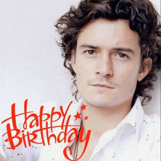 Happy birthday Orlando bloom       have a nice day god bless you