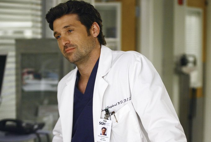 HAPPY BIRTHDAY PATRICK DEMPSEY - 13. January 1966.  Lewiston, Maine, USA