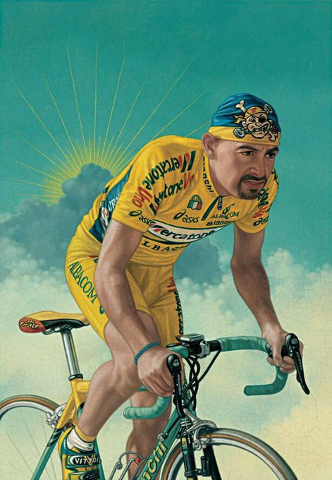 Happy Birthday to one of Cycling s legends. Marco Pantani, forever in our hearts.