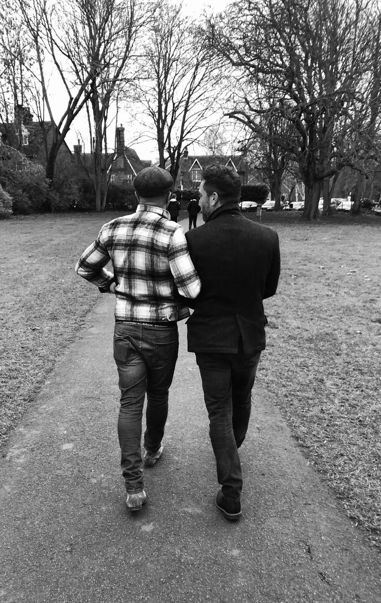 Walk in the park! #sundaywalk #bromance @jadejonesdmg @iamginodacampo https://t.co/PGc1teeTjX
