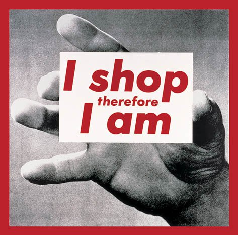 HAPPY BIRTHDAY, American conceptual artist and collagist Barbara Kruger