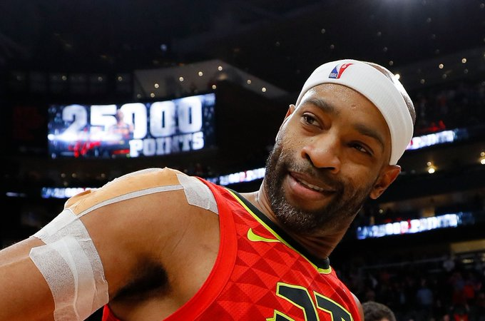 Happy 42nd birthday, Vince Carter.